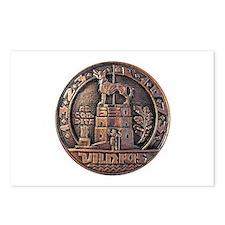 Vilnius Medallion Postcards (Package of 8)