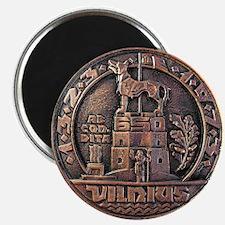 Vilnius Medallion Magnet