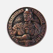 Gediminas (Duke Of Lithuania) Ornament (Round)