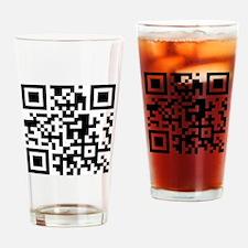 Unique Qr code Drinking Glass