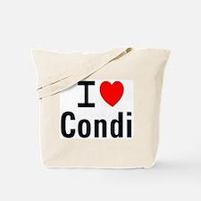 I Heart Dr. Condoleezza Rice Tote Bag