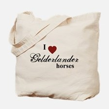 Gelderlander horses Tote Bag