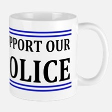 Support Our Police Mug