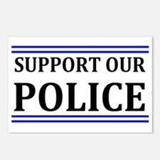 Support Our Police Postcards (Package of 8)