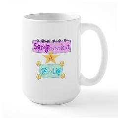 Scrapbooker-a-Holic Mug