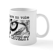 Report Animal Cruelty Cat Mug