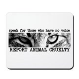 Animals rescue rights Mouse Pads