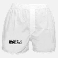 Report Animal Cruelty Cat Boxer Shorts