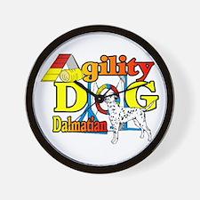 Dalmatian Agility Wall Clock