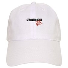 Off Duty Gerontologist Baseball Cap