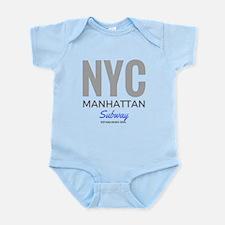NYC Manhattan Subway Body Suit