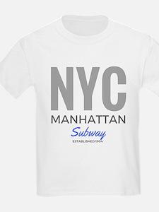 NYC Manhattan Subway T-Shirt