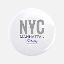 NYC Manhattan Subway Button