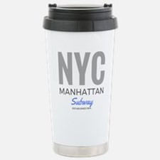 NYC Manhattan Subway Travel Mug