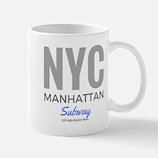NYC Manhattan Subway Mugs