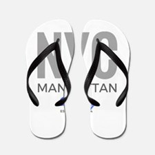 Nyc Manhattan Subway Flip Flops