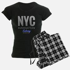 NYC Manhattan Subway Pajamas