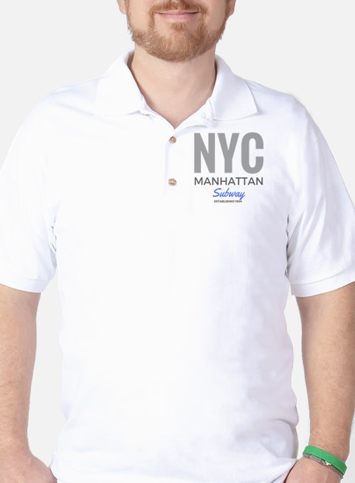 NYC Manhattan Subway T-Shirt