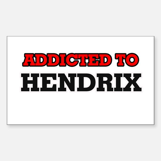 Addicted to Hendrix Bumper Stickers