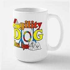 Lhasa Apso Agility Large Mug