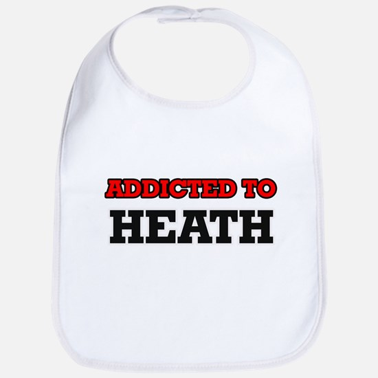 Addicted to Heath Bib
