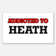 Addicted to Heath Decal