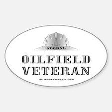 Oilfield Veteran Oval Decal