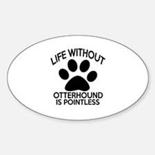 Life Without Parson Russell Terrier Sticker (Oval)