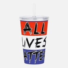 All Lives Matter Acrylic Double-wall Tumbler