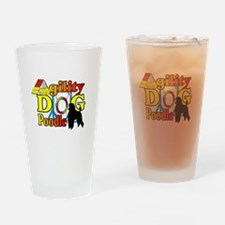 Poodle Agility Drinking Glass