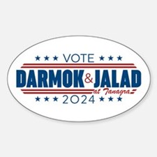 Darmok And Jalad 2020 Sticker (Oval)
