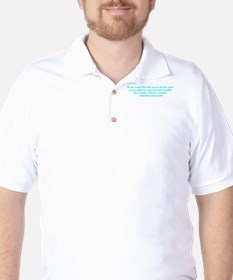 Responsible for trouble Golf Shirt