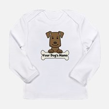 Personalized Labrador Long Sleeve Infant T-Shirt