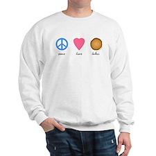 Peace Love Latkes Sweatshirt