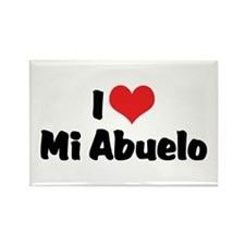 I Love Mi Abuelo Rectangle Magnet (10 pack)