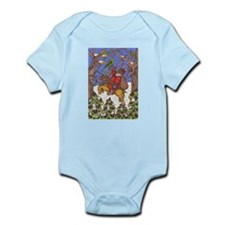 Santa Takes Off Infant Bodysuit