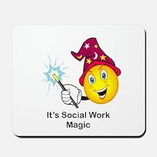 Social Work Magic Mousepad