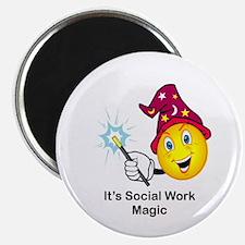 Social Work Magic Magnet