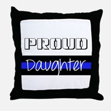 Police family Throw Pillow