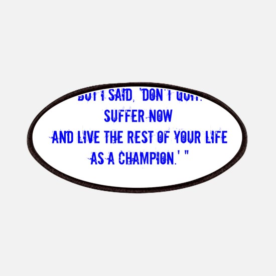 Champion quote Patch