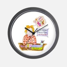 Scrapbooking Crop-A-Thon Wall Clock