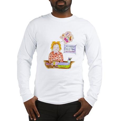 Scrapbooking Crop-A-Thon Long Sleeve T-Shirt