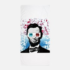 Abraham Lincoln - 3D Beach Towel