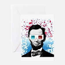 Abraham Lincoln - 3D Greeting Cards