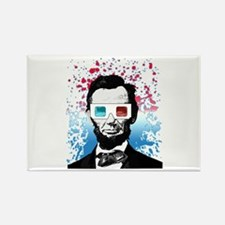Abraham Lincoln - 3D Magnets