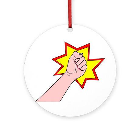 Revolution Fist Ornament (Round)