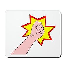 Revolution Fist Mousepad