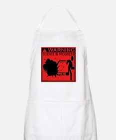 Science In Progress (red) BBQ Apron