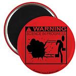 Science In Progress (red) Magnet
