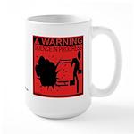 Science In Progress (red) Large Mug